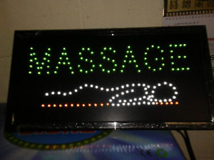 Open Massage Led Neon Open Sign Store Sign Business Sign Window Sign