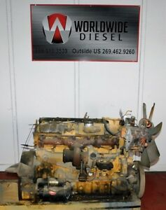 1997 Cat 3116 Diesel Engine Core 215 Hp Good For Rebuild Only