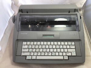 Brother Sx 4000 Electric Word Spell Electronic Typewriter Daisy Wheel Tested