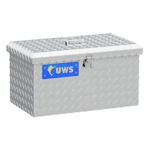Uws Tb 2 Silver Carrying Lockable Aluminum Alloy Truck Tote Tool Boxes