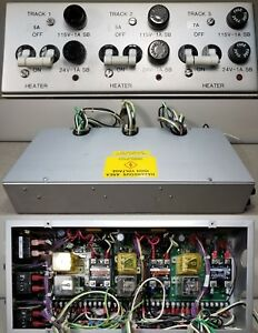 Silicon Valley Group Heater controller W Three 80052c Intfc Board For Hpo Wafer