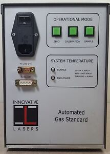 Innovative Laser Ogs Control automated Gas Standard