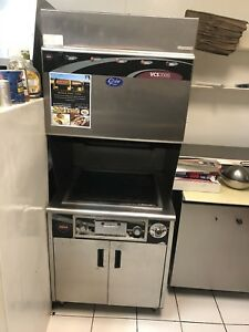 Wells Vcs200 Flat Grill With Self Contained Hood Ansul