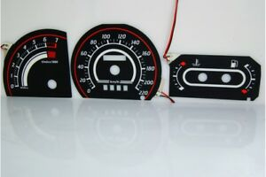 Ford Escort Mk4 Glow Gauges Dials Plasma Dials Kit Tacho Glow Dash Shift Indicat