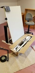 Trident Drafting Table With Bieffe Drafting Machine