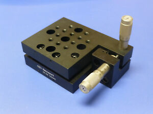Newport M 36 Tilt And Rotation Stage Platform With Sm 13 Micrometers Metric