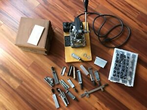 Kingsley Hot Stamp Machine With A Lot Of Extras