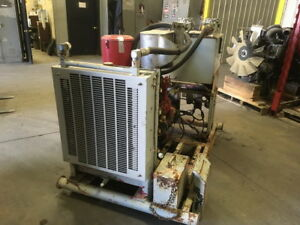 Detroit Diesel 3 53 Power Unit With Hand Clutch Approx 4k Hours All Complete