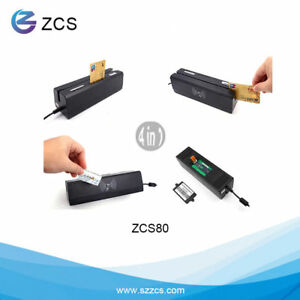 Zcs80 4 in 1 Magnetic Reader writer Ic Rfid Psam Only For Apdu Professional User