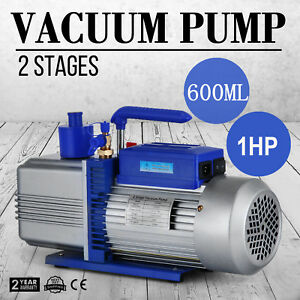 12cfm 2 Stages 1hp Refrigerant Vacuum Pump New Tools Rotary Vane Easy Operation