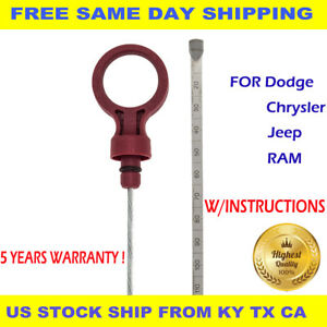 Transmission Automatic Oil Dipstick Auto Trans Atf Fluid Level Dip Fits For Jeep Fits Jeep Wrangler