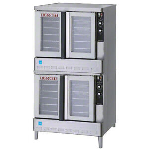 Blodgett Gas Convection Oven Double Stack Ovens Deep Depth Ovens