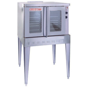 Blodgett Sho g Gas Convection Oven Single Stack Natural Gas Model