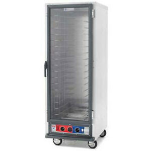 Metro C519 cfc 4 Non insulated Proofing holding Cabinet 3 Slide Spacing