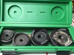 Greenlee 7304 Knockout Punch Set 2 1 2 To 4 6211