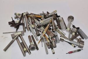 Mixed Lot 12 Lbs Machinist Inspection Push Pin Gage Go No Go Gauge Itt Cannon
