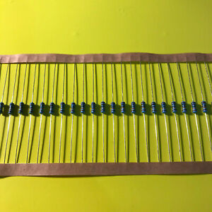 1 4w 25 Watt 1 Tolerance Metal Film Resistor 20 Pieces Usa Seller