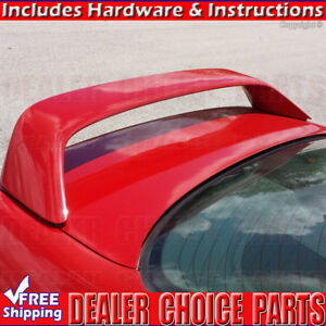 1996 1997 1998 1999 2000 Honda Civic 2d Si Factory Style Spoiler W Led Unpainted