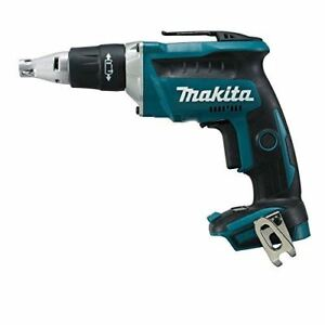 Makita Dfs452z 1 4 inch Cordless Drywall Screwdriver Kit With Brushless Motor