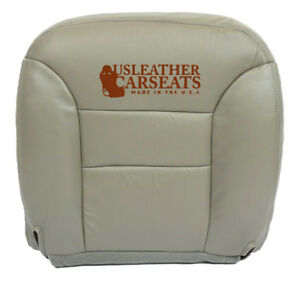 1995 1999 Gmc Sierra Yukon Tahoe Driver Bottom Synthetic Leather Seat Cover Gray