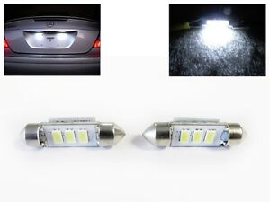 No Error Canbus Led License Plate Bulb For Mbz W202 W203 W208 W209 6418 6411