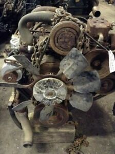 1986 International Dt 466 M Diesel Engine All Complete And Run Tested