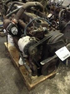 International Dt 466 M Diesel Engine All Complete And Run Tested