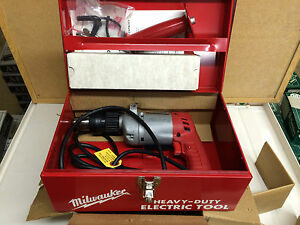New Milwaukee 5397 Hammer Drill Kit In Steel Case discontinued