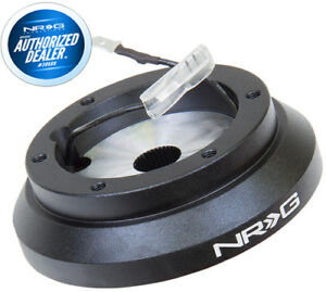 New Nrg Steering Wheel Short Hub Fits Eclipse Subaru Impreza Wrx Srk 100h