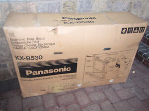 New Panasonic Kx b530 Electronic Print Interactive White Board With Stand