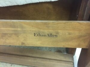 Sold Ethan Allen Legacy French Provincal Sleigh Bed Frame Queen Size