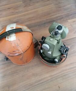 Wild Heerbrugg T1 Theodolite Survey Transit with Carrying Case