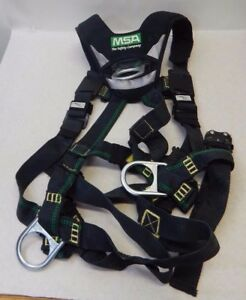 Ms Safety 10150152 Evotech Arc Flash Full body Harness Fast Free Shipping