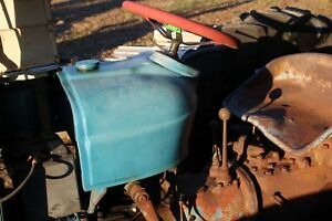 Fordson Antique Tractor Diesel Parting Out Fuel Tank Farmerjohnsparts