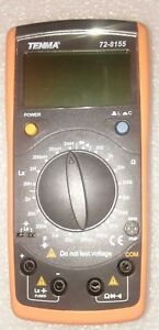 Tenma 72 8155 multimeter Lcr