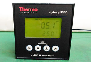 10455 Thermo Scientific Ph orp Rf Transmitter Alpha Ph600
