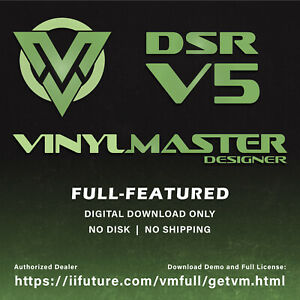 Highly Advanced Sign Maker Software For Vinyl Cutting Printing Vinylmaster Dsr