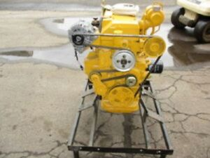 John Deere 4024t Diesel Engine 0 Miles All Complete And Run Tested