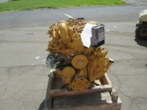 2013 Cat C3 4 Diesel Engine 0 Miles 75 Hp All Complete And Run Tested