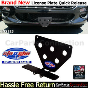 Sto N Sho For 17 19 Fiat 124 Spider Classic lusso License Plate Bracket Sns125