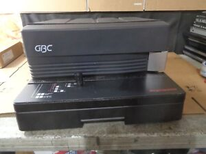 Gbc Magnapunch 7703201 Binding Punch power On N f t