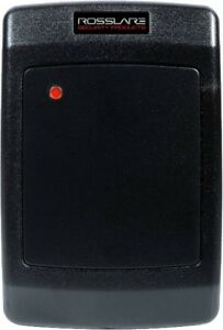 Rosslare Ay h12c Multi Format proximity Reader Access Control Rfid Gang Box Size