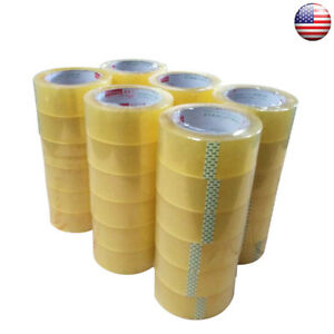 1 2 5 10 36 Rolls Clear Sealing Tapes Carton Packing Tapes 4 5cm X 110 Yard Home