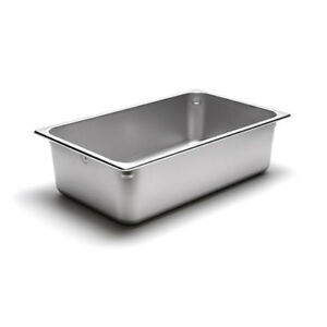 Value Series 222006931 22 Gauge S s Full size Steam Table Pan 21 Quart