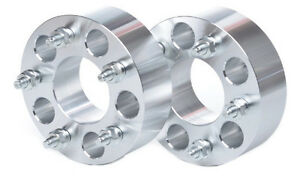 2 Billet Wheel Adapters 5x4 75 To 5x4 75 2 Thick 5x120 To 5x120 Spacers 5 Lugs