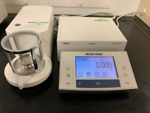 Mettler Toledo Xs3du Micro Balance Calibrated 90 Day Warranty