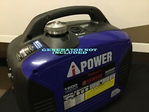 A ipower Sc2000 Yamaha Powered Gas Inverter Generator Extended Run Fuel Cap