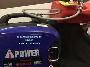 A ipower Sc2000i Yamaha Powered Inverter Generator 6 Gal Ext Run Fuel System