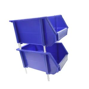 New Assembly Plastic Tool Boxs 24 Parts Bins For Garage Convenience Organizer