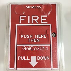 Siemens Hms d Addressable Dual Action Pull Station P n 500 033400 New
